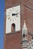 Klokketoren van Monza kathedraal, Italië Stock Foto's