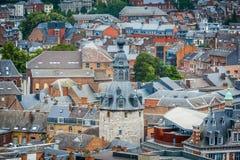 Klokketoren van Namen, België stock foto