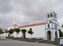 Klokketoren van Santo Domingo de Guzman-kerk royalty-vrije stock afbeelding