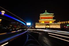 Klokketoren in Xi'an China Royalty-vrije Stock Afbeelding