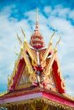 Klokketorenboeddhisme Stock Afbeelding