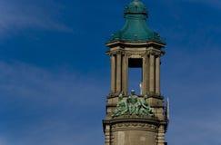 Klokketorenstandbeeld Stock Afbeelding
