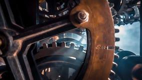 Klokmachine van de Uren stock video