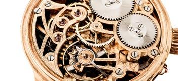 Klokmechanismen Royalty-vrije Stock Foto