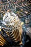 klokt s torn för boston panorama Fotografering för Bildbyråer