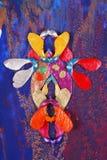 klon abstrakcyjne malowaniu materiału siewnego Obrazy Royalty Free