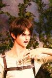 Klon Ellen jaeger od Shingeki żadny Kyojin Zdjęcie Royalty Free