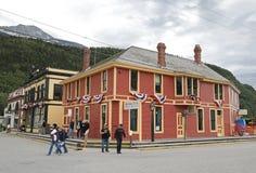 Klondike Goldrush National Historic Visitor Center Stock Image