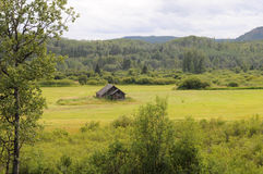 Klondike Highway Ranch House Royalty Free Stock Photography