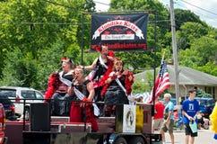 Klondike Kates Singing at Parade Stock Images