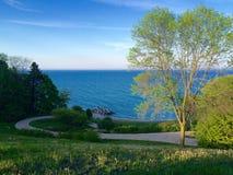Klondike parkerar Wisconsin Royaltyfri Fotografi