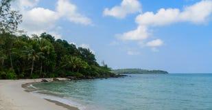 Klong Chao Beach Arkivfoton