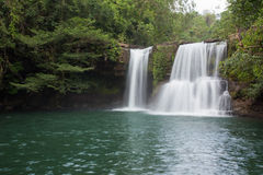Klong Chao waterfall in Thailand Royalty Free Stock Photography