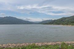 Klong-Din Dang reservoir. Royalty Free Stock Photo