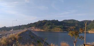 Klong-ka-Ta represa, Phuket - TAILÂNDIA fotografia de stock royalty free