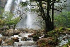 Klong Lan-Wasserfall Lizenzfreie Stockfotografie