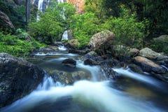 Klong lan water falls kamphengpetch northern thailand stock photo