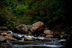 Klong Lan Waterfall photographie stock libre de droits