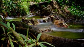 Klong Lan Waterfall royaltyfri foto