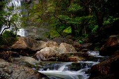 Klong Lan Waterfall image stock