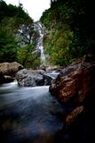 Klong Lan Waterfall Images libres de droits
