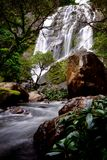 Klong Lan Waterfall royaltyfri bild