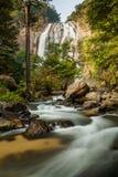 Klong Lan waterfall, evergreen forest Stock Photos