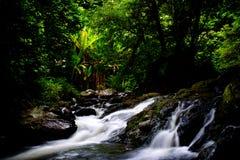 Klong Lan Waterfall Stock Image