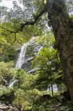 Klong Lan Waterfall. National Park in Thailand Royalty Free Stock Image