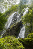 Klong Lan Waterfall. National Park in Thailand Royalty Free Stock Photo