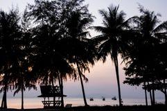 Klong Muang beach Royalty Free Stock Photography
