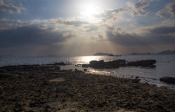 Klong Muang plaża Obrazy Royalty Free