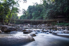 Klong Pai Boon Waterfall in Chanthaburi province Stock Photography
