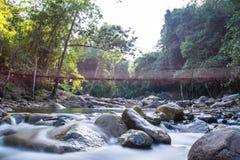 Klong Pai Boon Waterfall , Chanthaburi province in Thailand Royalty Free Stock Photos