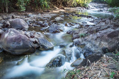 Klong Pai Boon Waterfall in Thailand Royalty-vrije Stock Foto's