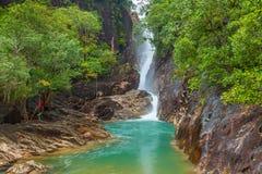 Klong Ploo in Chang island Stock Photo