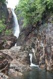 Klong Plu瀑布,酸值张,泰国 库存照片