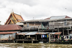 Free Klong Poor People River Chao Phraya Bangkok Stock Image - 78480411