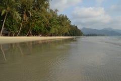Klong Prao plaża Fotografia Stock