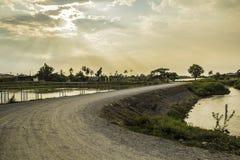 Klong Prapa (canale di Prapa) Fotografie Stock