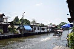 Klong smäll Luang, Bangkok Thailand Arkivbild