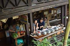 Klong smäll Luang, Bangkok Thailand Royaltyfria Bilder