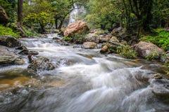 Klonglan vattenfall Fotografering för Bildbyråer
