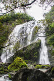 Klonglan waterfall. Royalty Free Stock Image