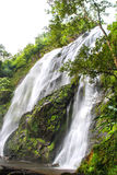 Klonglan waterfall. Royalty Free Stock Photo