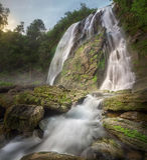 Klonglan waterfall Royalty Free Stock Photo