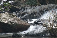 Klonglan Waterfall in Kampangpet Royalty Free Stock Photo