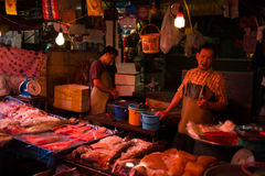 Klongtoey Meat Market Royalty Free Stock Image