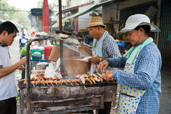 Klongtoey Meat Market Stock Image