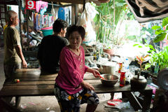 Klongtoey Slum Royalty Free Stock Photography